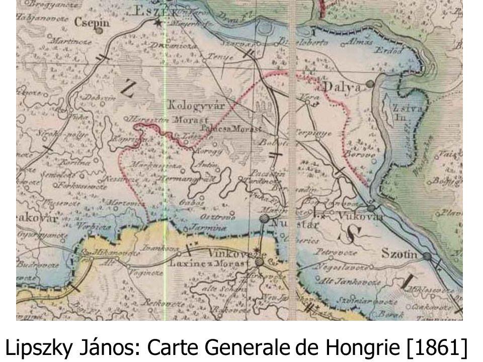 Lipszky János: Carte Generale de Hongrie [1861]